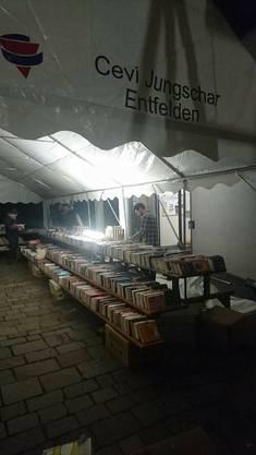 Bücher sortieren bis frühmorgens