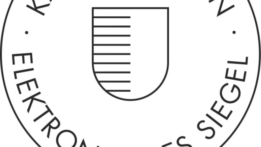 Die Luzerner Verwaltung führt das elektronische Siegel ein.