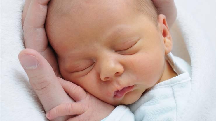 Ben Alexander, das erste Hirslanden-Baby des neuen Jahres. ZVG