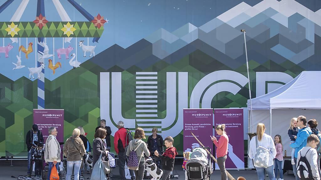 Die Luga im Jahr 2019. Nach 2020 wird die Zentralschweizer Erlebnismesse auch 2021 ausfallen. (Archivaufnahme)