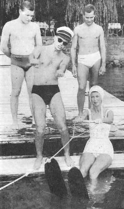 1960: Die Klubschule baut das Angebot laufend aus: Kurse in Fechten, Malen, Schönheitspflege, Tanzen, Wasserski fahren oder Pflanzenbetreuung kommen hinzu.