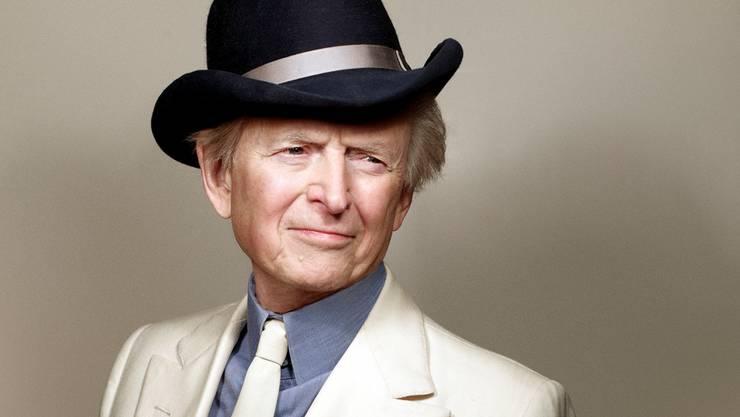 Wenn's ums Austeilen geht, ist Tom Wolfe mehr Cowboy als Dandy.Mark Seliger/Keystone