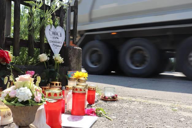 Am Donnerstag, 6. Juni, wurde hier ein 10-jähriger Bub von einem Lastwagen überfahren.