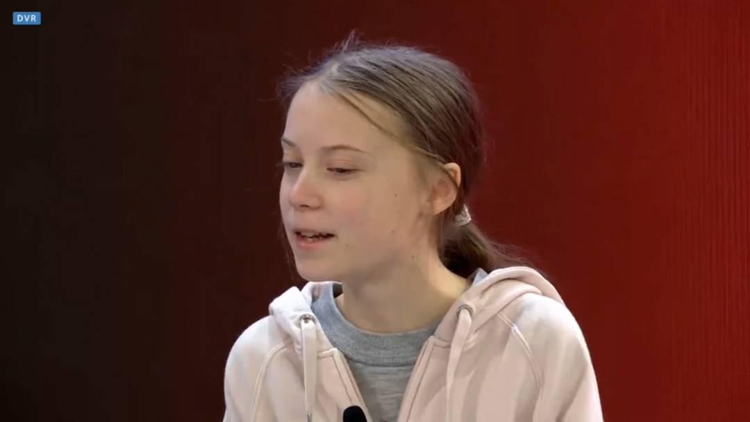 """Greta Thunberg: """"Hört auf die Wissenschaftler"""""""