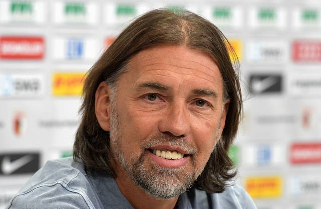 Martin Schmidts Start mit dem neuen Team ist gelungen. Mit Augsburg gewann er das zweite Spiel unter seiner Leitung gegen Stuttgart gleich mit 6:0.