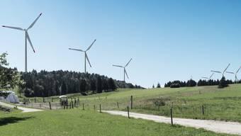 Lässt der Gemeinderat auch noch den Windpark auf dem Grenchenberg fallen?