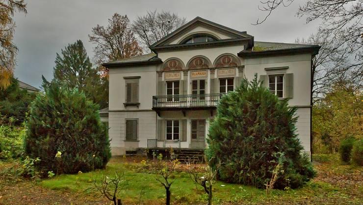 Verliert täglich an Wert: die Villa Malaga, ein «Rohdiamant».Freudiger