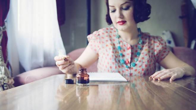 Kaum etwas ist schwieriger, als einen Liebesbrief zu verfassen. Foto: Getty Images