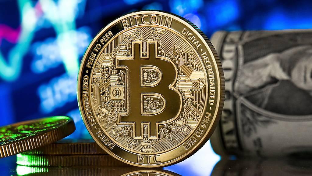 Bitcoin klettert erstmals über Marke von 60'000 Dollar