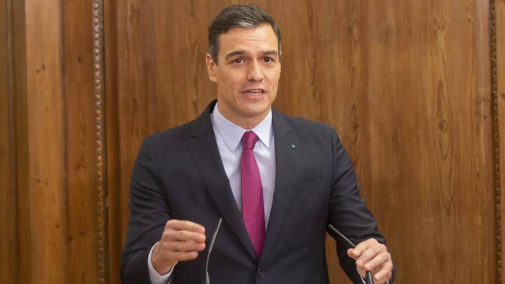 Katalanische Separatisten sagen Sánchez Unterstützung zu