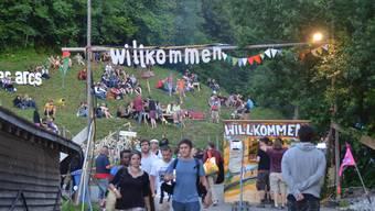 Ab Freitag pilgern Festival-Fans wieder in die Gipsgrube.
