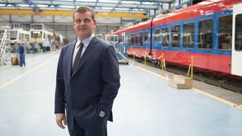 Grund zum Trübsal blasen sieht Stadler-Rail-Chef Peter Spuhler aber nicht.