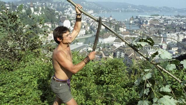 Bruno Manser im Jahr 1999 (Archiv)