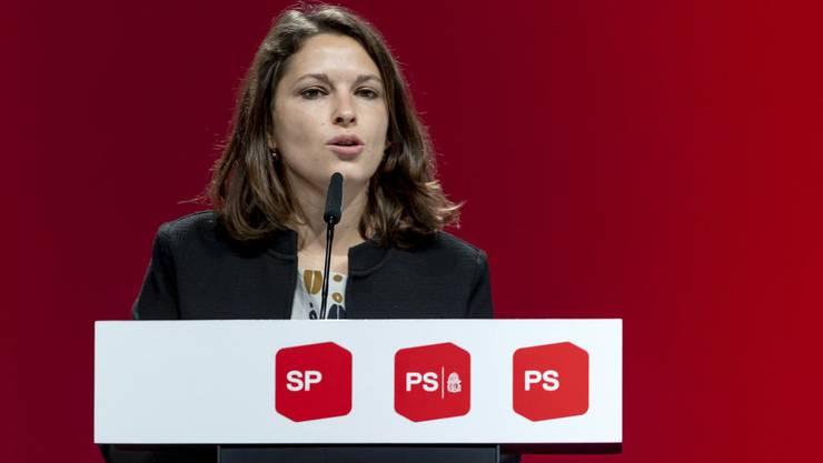 «Grobfährlässig»: Mattea Meyer, Co-Präsidentin der SP, über Ueli Maurers Aussage, er habe nicht noch einmal 30 Milliarden für ein Rettungspaket.