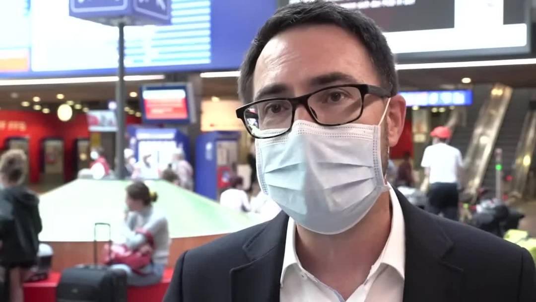 Maskentragpflicht: SBB-Sprecher Martin Meier im Interview