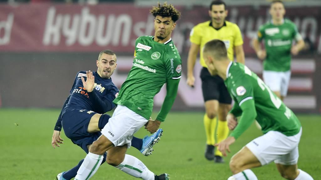 St.Gallen verliert trotz gutem Spiel gegen den FC Zürich