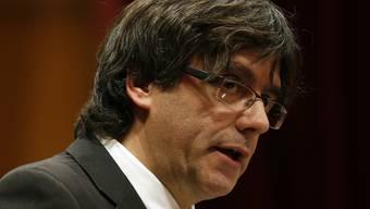 Neuer Regierungschef von Katalonien: Carles Puigdemont.