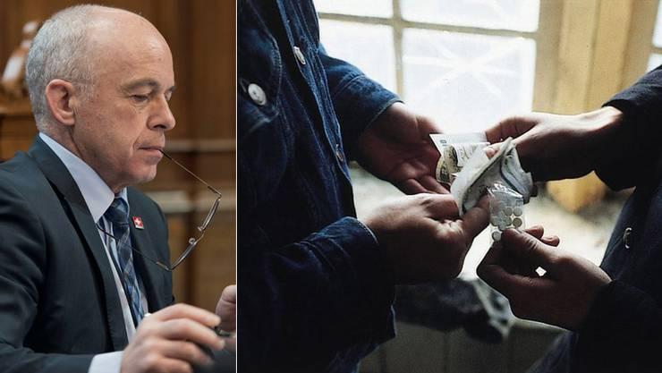 Ueli Maurer kritisiert das Urteil aus Strassburg, welches besagt, dass die Schweiz den Familienvater nicht hätte ausschaffen dürfen. Der Nigerianer war wegen Drogenhandels ausgeschafft worden.