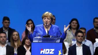 Für die deutsche die Kanzlerin Angela Merkel ist Patriotismus mit dem Bau eines gemeinsamen Europas nicht unvereinbar.
