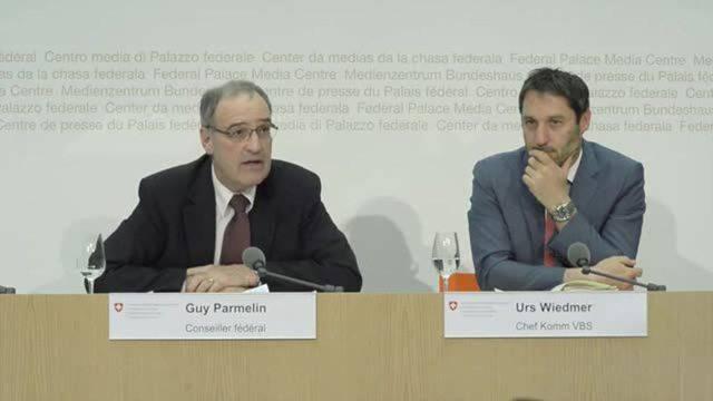 Guy Parmelin zu den Bauland-Vorwürfen