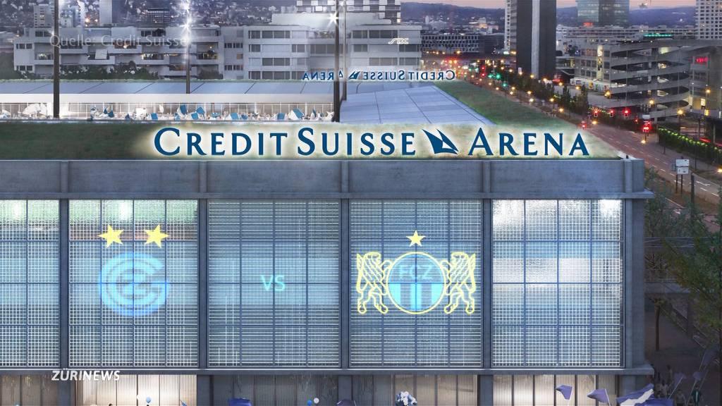 """Hardturm-Stadion wird zur """"Credit Suisse Arena"""""""