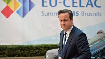 Geriet beim EU-Lateinamerika-Gipfel mit dem argentischen Aussenminister aneinander: Grossbritanniens Premierminister David Cameron