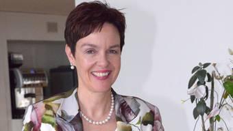 Monica Gschwind (54) ist das Ebenbild der landschäftlichen Befindlichkeiten.