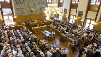 Blick in den Kantonsrat Zürich. (Archivbild)