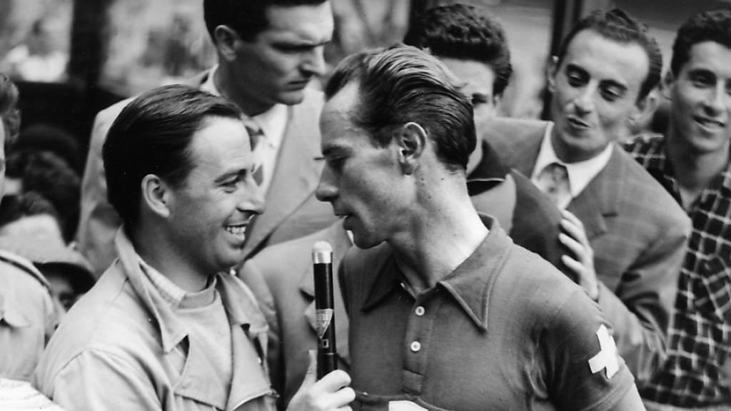 Hugo Koblet gewann 1950 als erster Ausländer den Giro