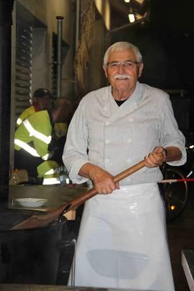 Ernst Trösch sagt, dass er Suppe mit Spatz koche, solange die Hirschthaler Feuerwehr bestehe. «Wenn es hier aufhört, höre ich auch auf.»