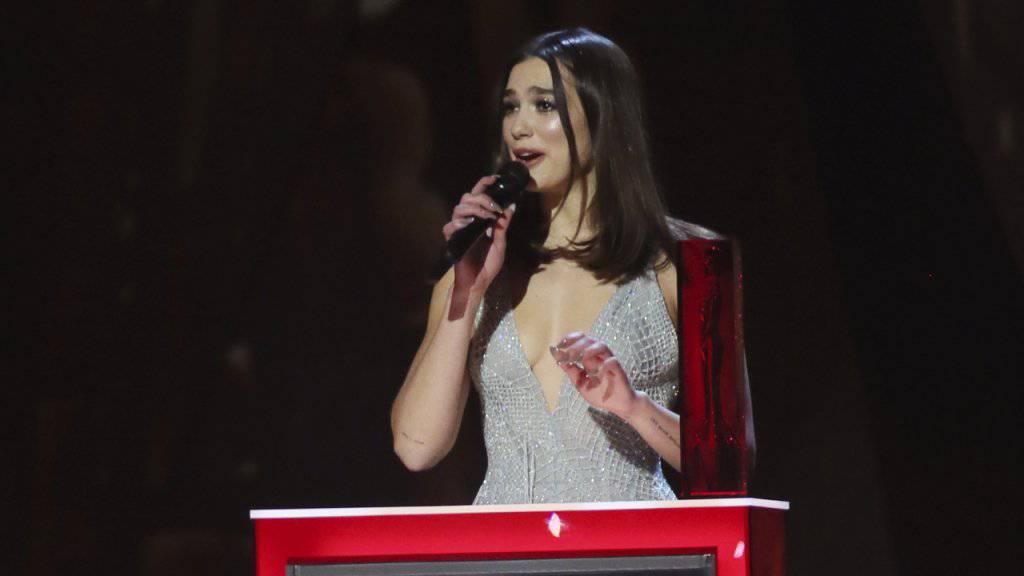 Dua Lipa und Rapper Stormzy bei Brit Awards ausgezeichnet