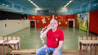 Patrick Weber ist seit 21 Jahren bei der Heidugger-Clique. Jetzt hofft er, dass es auch nächstes Jahr einen Fasnachtsball gibt.