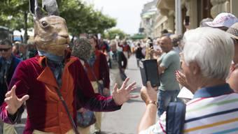 Ein Städtchen im Ausnahmezustand: 200'000 Besucher in vier Tagen in Vevey. Trotz des Andrangs gab es bislang keine grösseren Zwischenfälle.