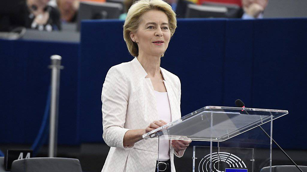 Ursula von der Leyen gewählt
