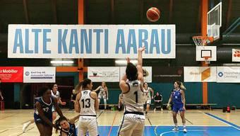 Die Aarauerinnen des BC Alte Kanti Aarau gewinnen das letzte Heimspiel des Jahres.