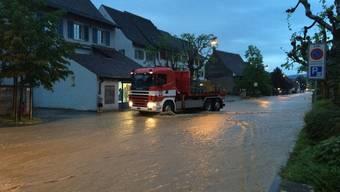 Im Kanton Baselland kam es am Samstag zu Überschwemmungen