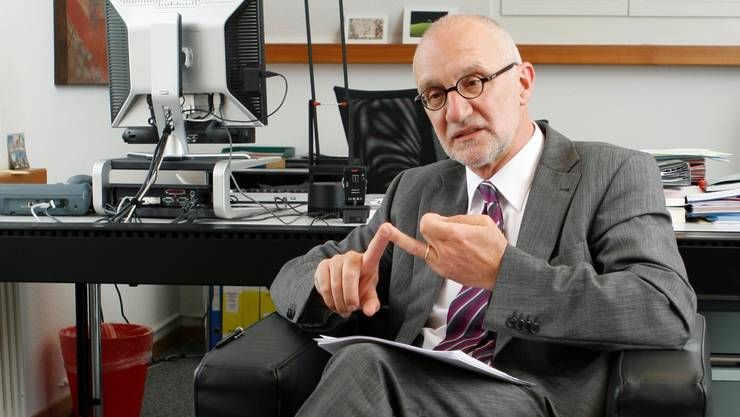 Professor Hermann Forneck (63) möchte einen visionären Lehrplan 21.Raphael Hünerfauth