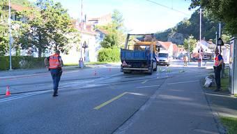Verkehrsunfall in Balsthal vom 18. Juni 2018:
