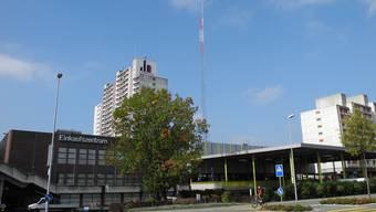 Auf dem Liebrüti-Zentrum in Kaiseraugst wird der Domus profiliert. Das Baugesuch wird derzeit geprüft.