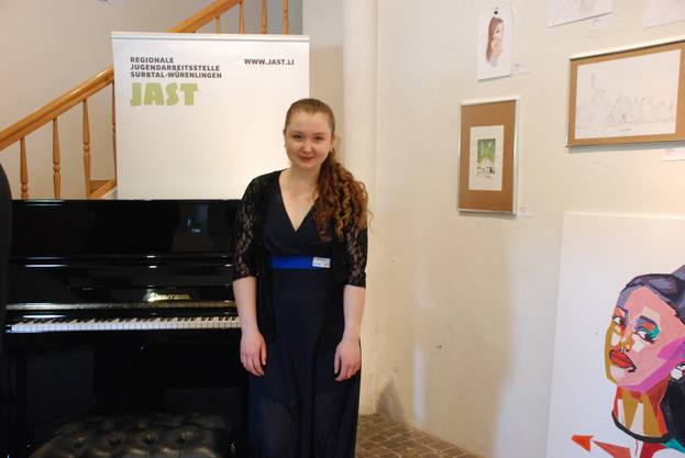 Jasmin Schlegel eröffnete die SurbArt mit einem Klavierkonzert.