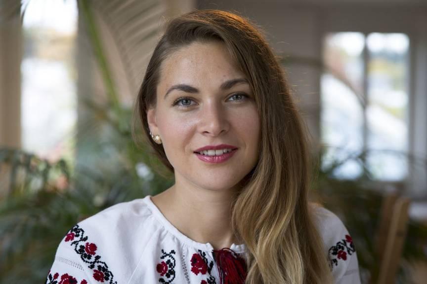 Olga kommt ursprünglich aus der Ukraine und wohnt heute in St.Gallen. / Peter Käser