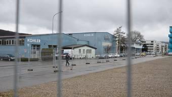 Auf diesem Areal der Hans Kohler AG am Bahnhof könnte eine neue städtische Alterseinrichtung entstehen. Ein zweiter möglicher Standort befindet sich neben dem Schulhaus Reitmen.