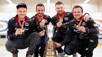 Curling, Schweizermeisterschaft, Yannick Schwaller, Team Bern Zähringer