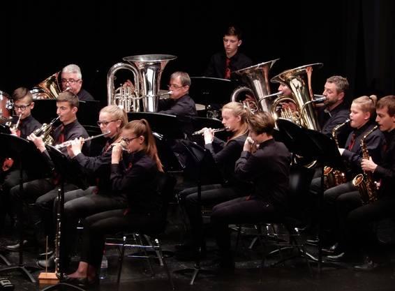 Die Stücke verlangten den jung und jung gebliebenen Musizierenden alles ab. Bild: Esther Jenni-Heutschi