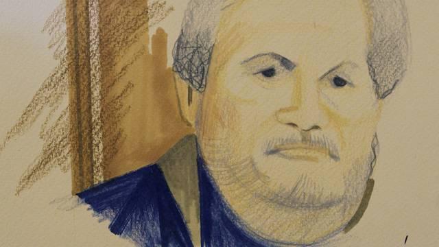 Eine Skizze von Ilich Ramirez Carlos (Archiv)
