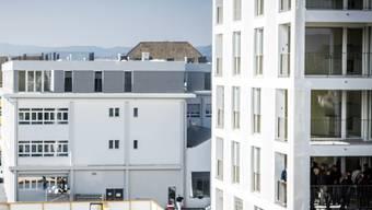 Die Mieter im neuen Quartier «Im Lenz» in Lenzburg beziehen die Telekom-Dienstleistungen von SWL/Quickline.