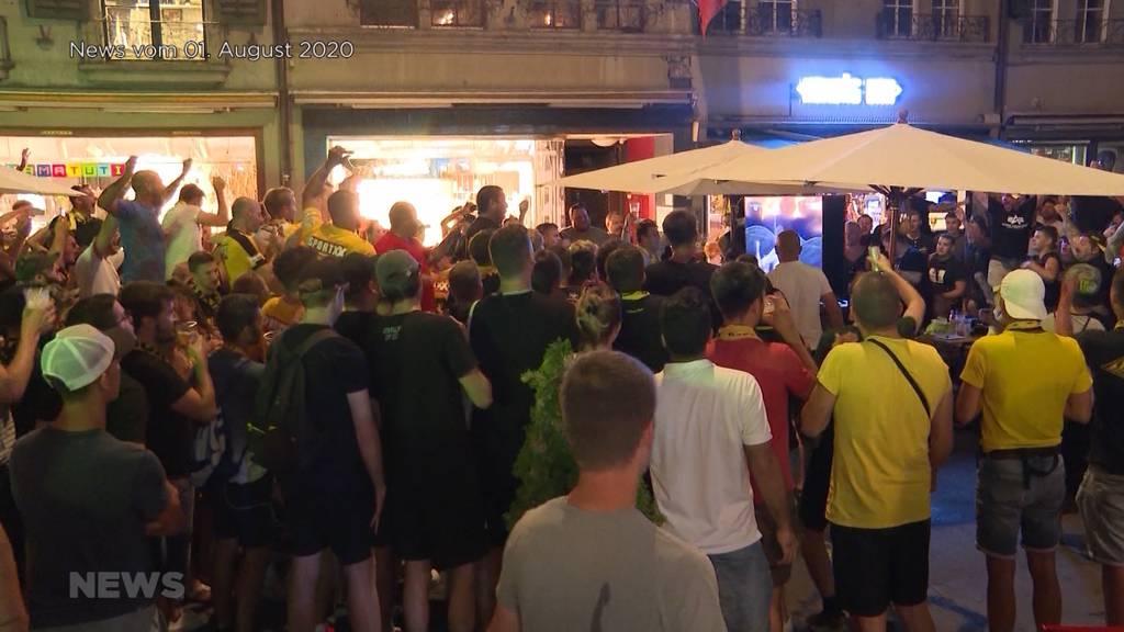 YB-Cupfinal: Public-Viewing in der Stadt Bern erlaubt