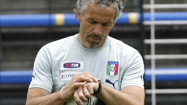Die Trainer-Uhr ist für Roberto Donadoni bei Napoli abgelaufen