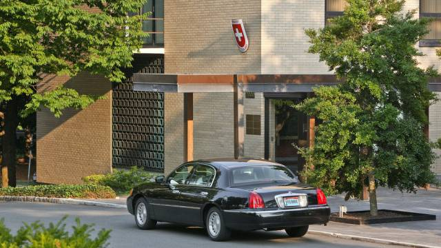 Die Schweizer Botschaft in Washington (Archiv)