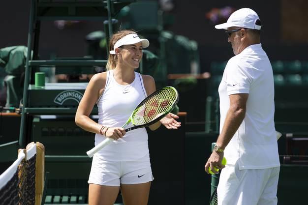 Gerade deswegen startet sie voller Zuversicht in das Turnier in Wimbledon: «Ich bin sehr selbstbewusst und weiss, dass ich mit allen mithalten kann.»